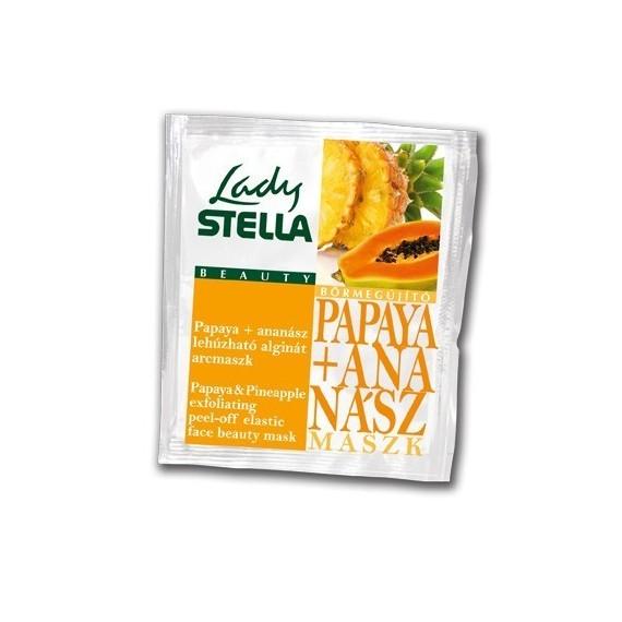 Lady Stella - Mască gumată cu papaya și ananas