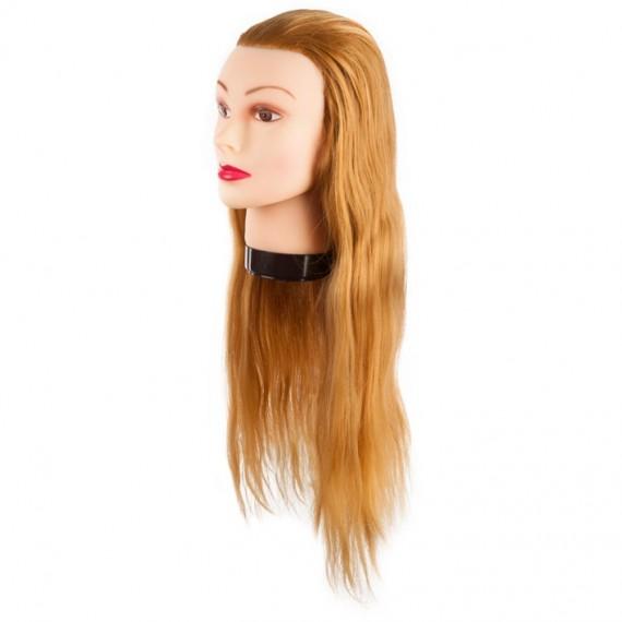 Eurostil - Cap de papusa par blond - 55-60 cm - Ref. 02545